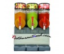 30L Stainless Steel Triple Heads Slush Dispenser R257