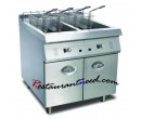 Electric 1-Tank 1-Basket Fryer With Cabinet K272
