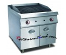 Gas Lava Rock Grill With Cabinet K276
